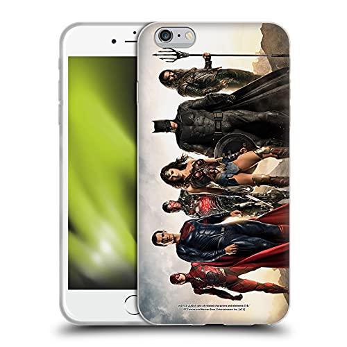 Head Case Designs Licenza Ufficiale Zack Snyder's Justice League Gruppo Snyder Cut Fotografia Cover in Morbido Gel Compatibile con Apple iPhone 6 Plus/iPhone 6s Plus