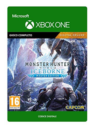 Monster Hunter World: Iceborne Master Edition Digital Deluxe Deluxe | Xbox One - Codice download