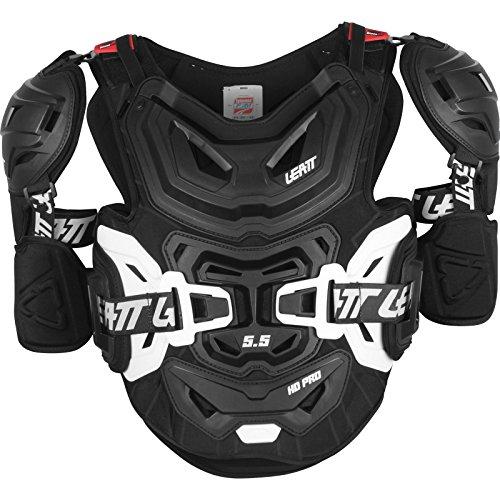 Leatt Brace Men's powersports-Combination-Chest-and-Back-Protectors (Black, XX-Large)