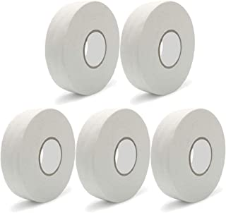 Hockey Stick Tape - 5 Rolls 1 Inches X 27yd - Pro Grade Strength Sports Tape, Easy Tear, No Sticky Residue-for Badminton/i...