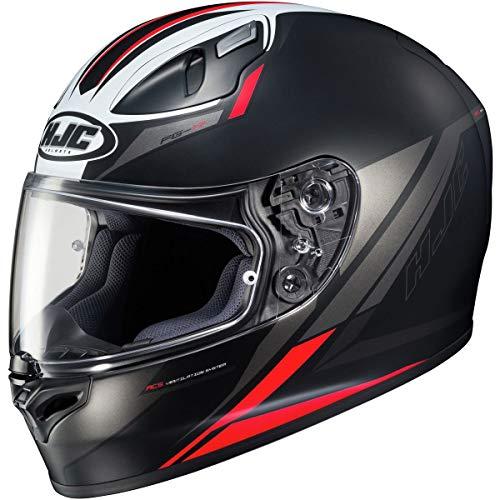 HJC FG-17 Helmet - Valve (Small) (Black/RED)