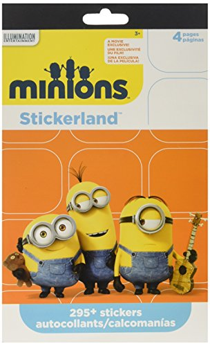 Minions Stickers Party Favors ~ 295 Reward Stickers