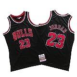 Michael Jordan Chicago Bulls Basketball Trikot Herren # 23 Classic Bestickt Retro Jersey Jugend Fan...
