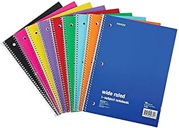 Staples 321463 1-Subject Notebook 8