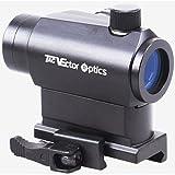 Vector Optics Maverick 1x22mm Tactical Micro Red Dot Scope Sight with QD Riser Picatinny Mount (Matte Black)