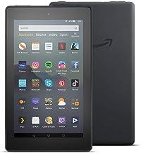 Fire 7-Tablet (7-Zoll-Display, 16 GB), Schwarz, Mit Werbung
