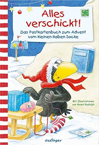Kleiner Rabe Socke: Alles verschickt!, Das Postkartenbuch zum Advent vom kleinen Raben Socke (Der kleine Rabe Socke)