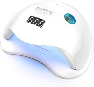 SUNUV UV LED Nail Lamp Light Dryer for Gel Nail Polish Curing Professional Big Size for Salon SUN5plus 48W