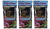"Poly Filter Poly-Bio-Marine, Fish Aquarium Filter Media Pad, 3-Pack, 4"" x 8"" (3-(Pack))"