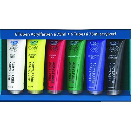 6er Acrylfarben á 75 ml