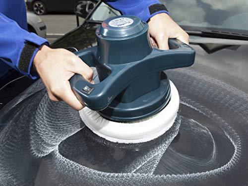 WESTFALIA Automotive 230V Poliermaschine 110W 3000U/min Auto wachsen und polieren mit seitlichen Haltegriffe