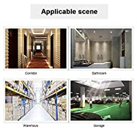 5.8GHz埋め込みスマートマイクロ波レーダーモーションセンサー、廊下階段アパート用の高感度長距離AC85-250V
