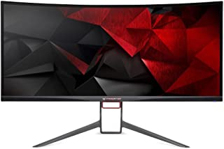 "Predator X34P 34"" UltraWide QHD Display Gaming Monitor 3440 x 1440 HDMI DisplayPort Audio out and USB Hub 3.0x4 (1up 4down)"