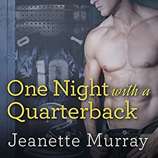 One Night with a Quarterback audiobook cover art
