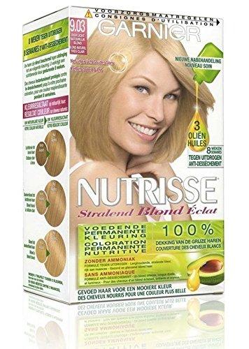 GARNIER - Coloration - NUTRISSE Crème - 9.03 Blond Naturel très clair