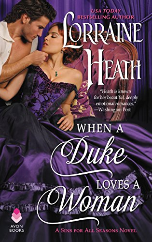 book cover of When a Duke Loves a Woman