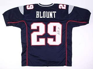 Legarrette Blount Autographed Signed Patriots Jersey - JSA Certified