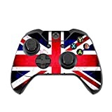 British Grunge Vintage Flag Vinyl Decal Sticker Skin by Moonlight Printing for Xbox One Controller