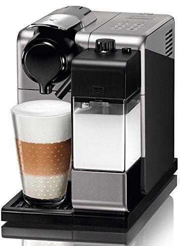 De'Longhi Nespresso Lattissima Touch EN 550.S Kaffekapselmaschine mit Milchsystem, Gratis Welcome Set mit Kapseln in unterschiedlichen Geschmacksrichtungen, 19 bar Pumpendruck, Silber