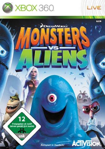Monsters vs Aliens [Importación alemana]