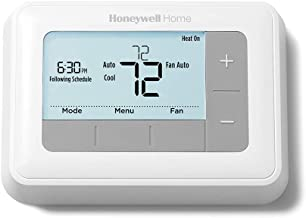 Honeywell RTH7560E1001/E 7-Day Flexible Programmable Thermostat-Extra-Large Backlit Display