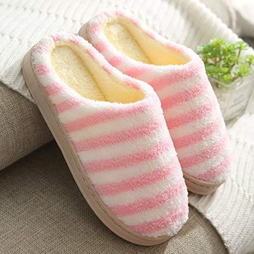 B/H Spugna Sandalo,Calore Addensato in Autunno e Inverno Pantofole Antiscivolo per la casa-A_38 / 39,Pantofole per Ospiti