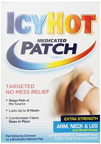 Icy Hot Topical Analgesic Small Patch (Arm, Neck & Leg) 5 ct