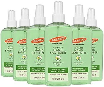 6-Count Palmer's Advanced Hand Sanitizer Spray 5.1 Fl Oz