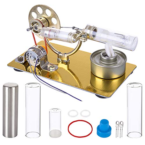 YAHAMA Stirling Engine Kit Stirlingmotor mit Generator Educational Model Set