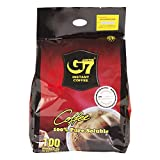 Trung Nguyen - G7 Instant Pure Black Coffee 100 Single Serve Sticks | Delicious Vietnamese Coffee...