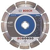 Bosch Professional Diamanttrennscheibe (für Granit und Naturstein, Ø:180 mm, Zubehör für Winkelschleifer)