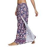 uBaby Boho Sarong Yoga Pantalones de pierna ancha para mujer, grandes y ligeros, perfectos para playa,...