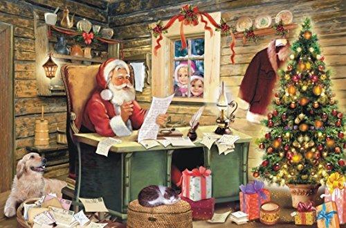 Preisjubel 6X Platzdeckchen Weihnachten 28112, rechteckig, Platzmatte, Tischset, Platzdecke