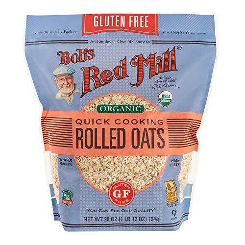 Bob's Red Mill Gluten Free Organic Quick Cooking Oats, 28 Oz