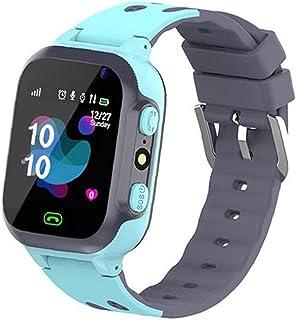 Kids Smart horloge Q16 Waterproof Pols Game Smartwatch Location Tracker met Camera Alarm Clock Sos voor Jongens Meisjes Blue