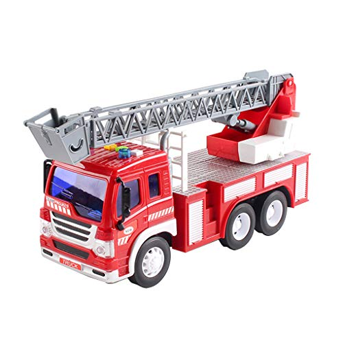 wufeng Engineering Löschfahrzeug Fahrzeug Spielzeug Luft Auto-Modell-Simulator Fire Truck Modell Kunststoff-Simulator Spielzeug-Kind-Kinder-Geburtstags-Geschenk