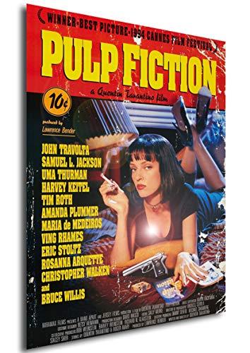"Poster Pulp Fiction ""Vintage"" Locandina - Formato (42x30 cm)"