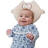 DMsolution - Almohada para bebé de búho, lavable, transpirable, antiasfixia, antireflujo, hipoalergénica, recomendada para bebés de 0 a 24 meses