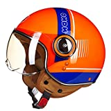 Casco Open Face Vintage Off Road Motocross Feminino Mezzo casco Casco Copricapo Casco Capacete Casco...