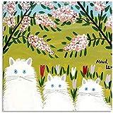 JSYEOP Póster decorativo de Maud Lewis con diseño de gato, 40 x 50 cm