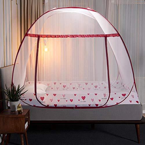 Mosquitera plegable con soporte para tienda de cama para adultos y niñas, decoración de la habitación, cortina de cama con marco para decoración del dormitorio del hogar