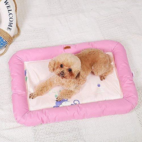 BJYG Pet bedSquare Shape Summer Cooling Tapis de lit pour Chien Tapis de Bain imperméable pour Chien Chat Chat rembourré pour lit de traversin pour Animaux de Compagnie - dans des Maisons, des ch