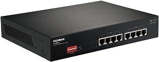ايديماكس جهاز تحويل الشبكة جيجابت ايثرنت 8 مخارج