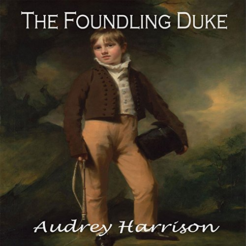 The Foundling Duke audiobook cover art