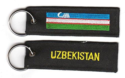 Schlüsselanhänger Usbekistan Anhänger Fahne Flagge NEU
