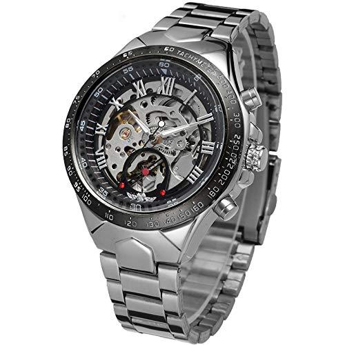 Yoodeet Russische Armbanduhr Herren Nobel Sport Automatisch Mechanisch Uhr