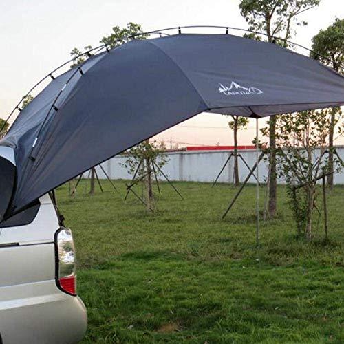 137.80inX94.49in 6-Person Awning Sun Refugio, Toldo Sun Shelter, Impermeable Auto Canopy Camper Trailer Carpa en la azotea, Toldo autoportante en la azotea con tela de poliéster PU para sombrilla y