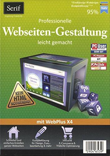 Serif WebPlus X4. Professionelle Webseiten-Gestaltung leicht gemacht