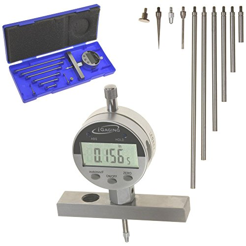 iGaging Depth Gauge Digital Electronic Indicator 0-22