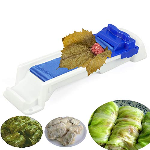 Delidge Sushi Roller Plastic Machine Kitchen Grape/Cabbage Leaf Rolling Tool Roll Maker